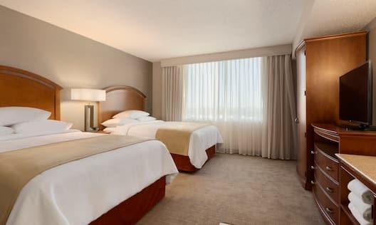 Two Queen Suite Bedroom