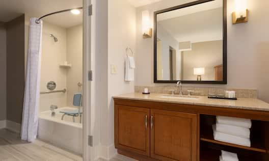 Accessible Bathroom with Tub
