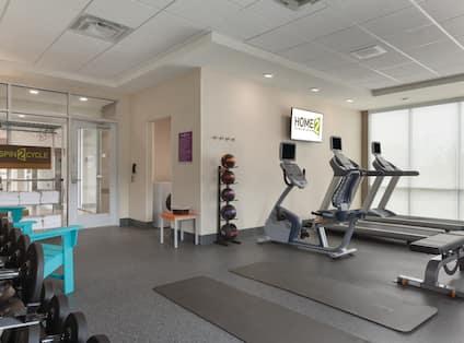 Erie PA hotel fitness center