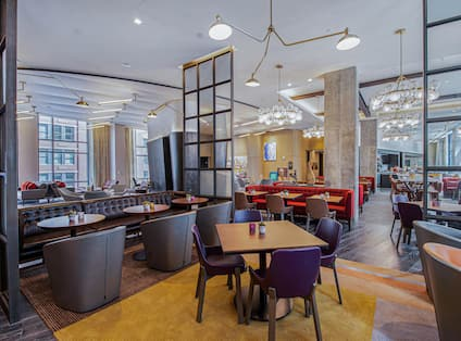 Lobby Seating  and Dining Areas