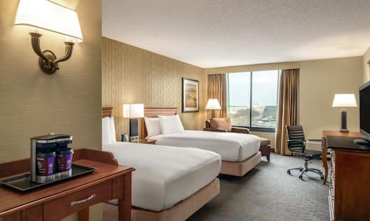 Accessible Double Queen Bed Guest Suite