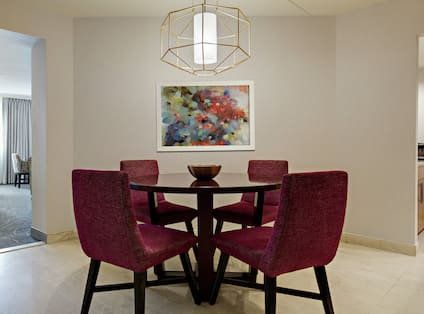 Dining Area in Presidential Suite