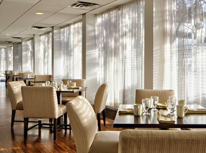 Breakfast Seating Area in Nectar Restaurant