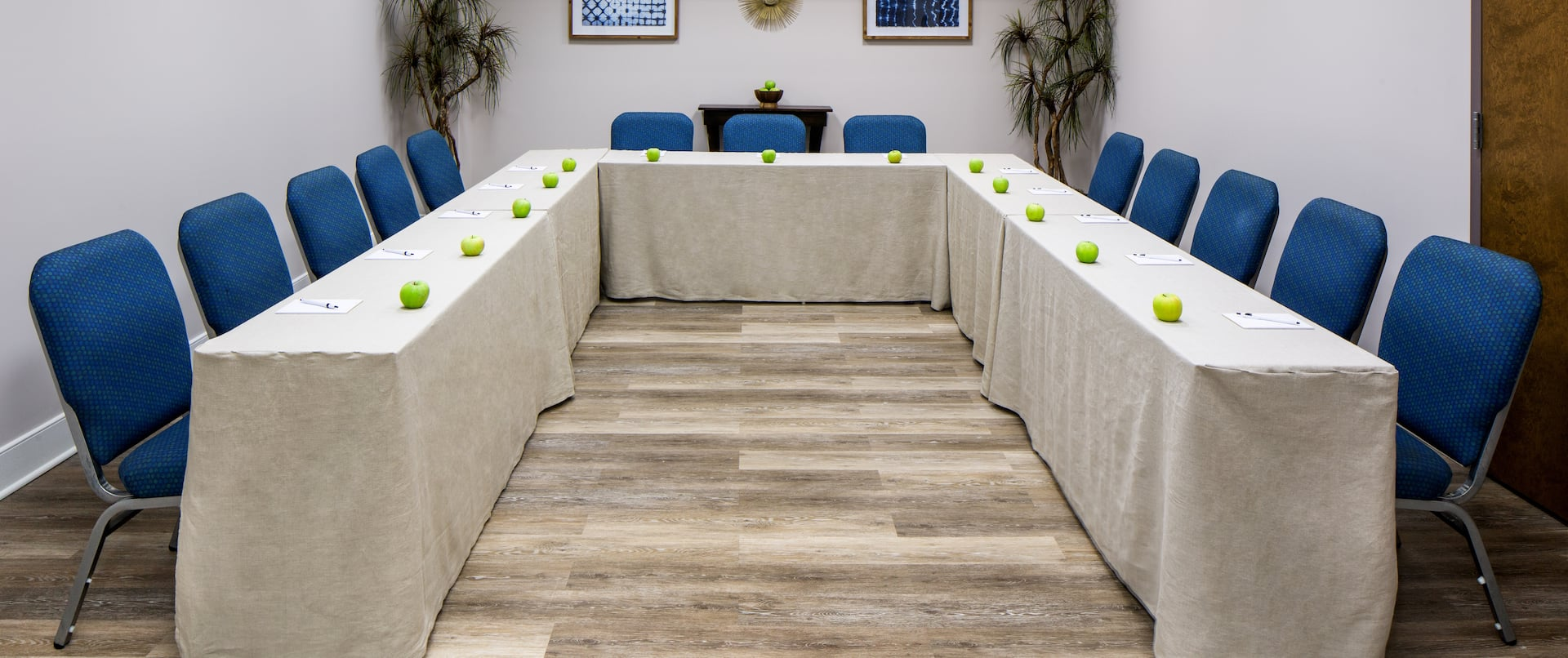 Meeting Room With U-Shaped Seating