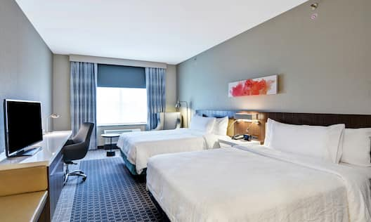 Two Queen-sized Bed Guest Room
