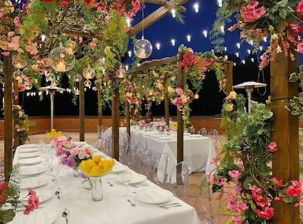 Balcony Decorated