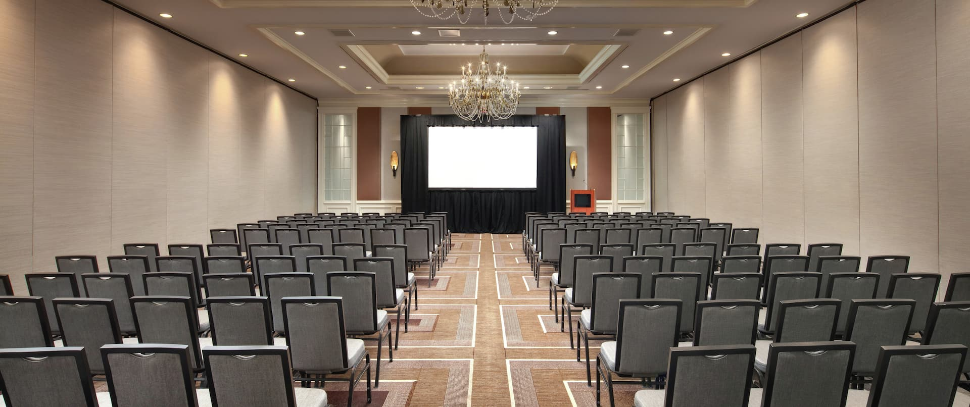 Meeting Room with Theater Setup