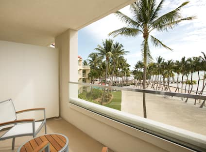 Ocean View with Balcony - 2 Double Beds