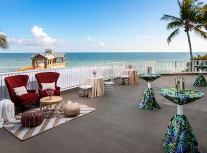 Wedding Celebration at Caribe Terrace with Ocean View