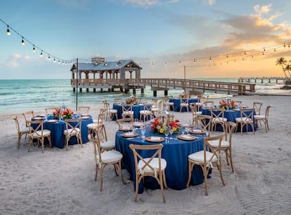 Dinner Event at East Beach