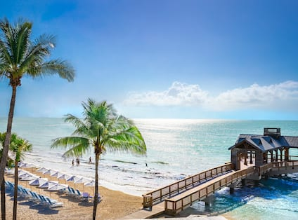 Ocean and Beach View with Gazebo