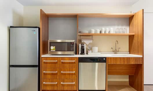 Two Queen Accessible Suite  Kitchen