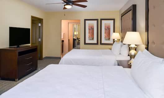 2 Queen Suite Bed