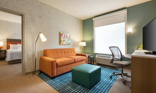 Accessible Suite with a King Bed