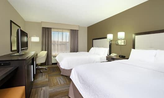 Two Queen Beds in Standard Guest Room