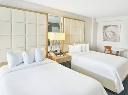 Accessible Room with Two Double Beds