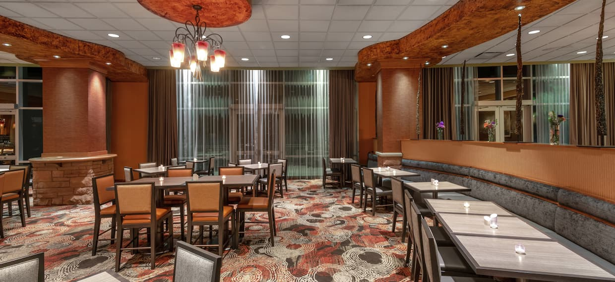 Dining Tables and Chairs in Rocky River Bar and Grille