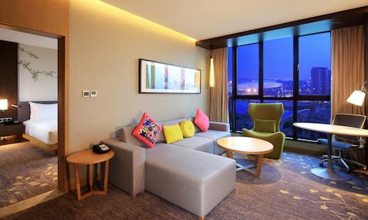 Suite Living Room Seating