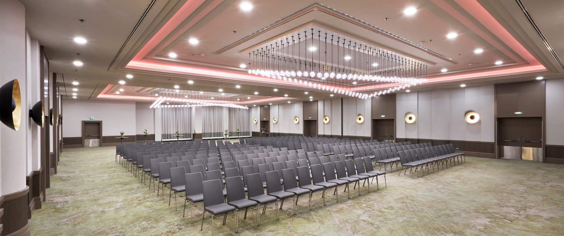 Frankfurt Ballroom with rows of seating