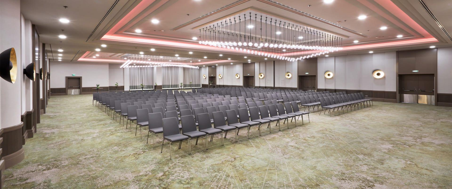 Frankfurt Ballroom with rows of seating