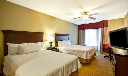 Suite Bedroom with Two Queen Beds