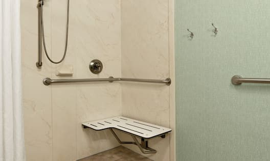 Accessible Roll-In Shower