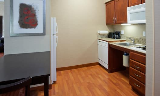 Accessible Suite Kitchen Area