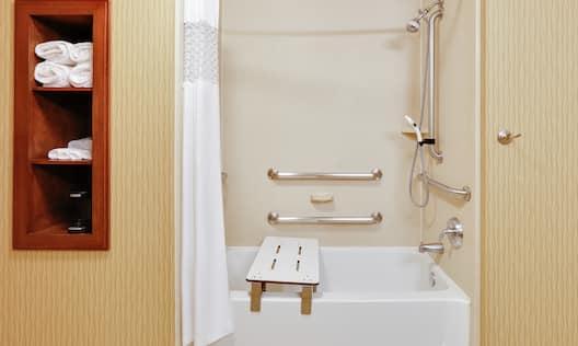 Double Queen Accessible Bathroom