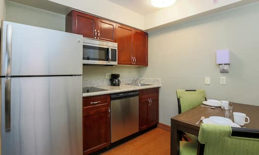 Guest Room Suite Kitchen