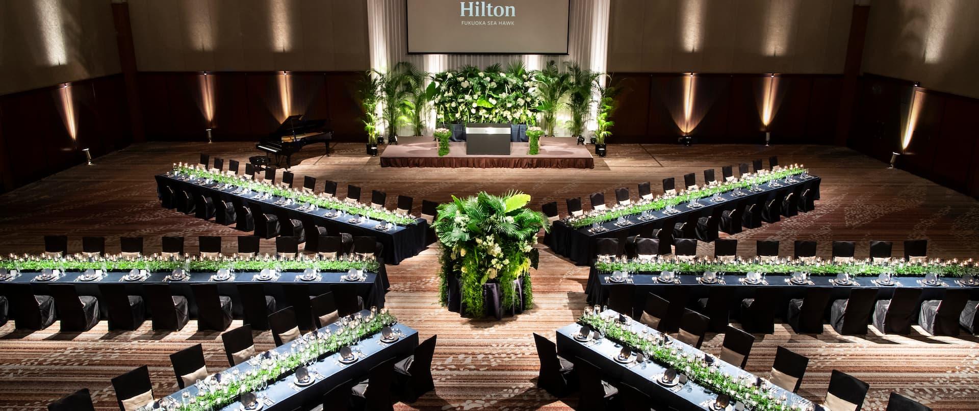 Hilton Fukuoka Sea Hawk Meeting Event