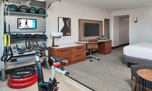 Fitness Area in King Room