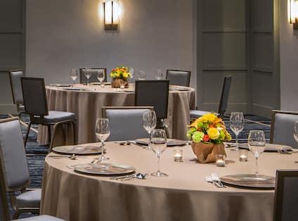Banquet Ballroom Setup