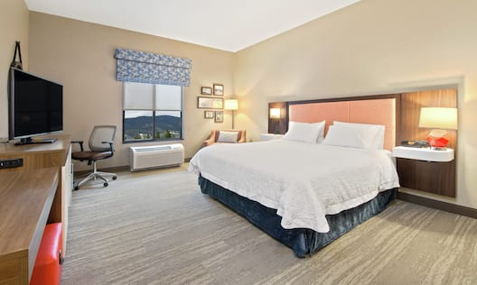 King Accessible Room with TV