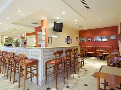 On-Site Pavilion Lounge - Bar Area