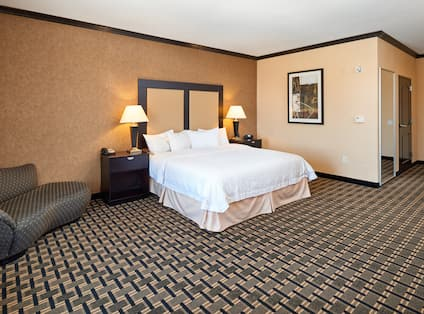 King Bed Accessible Guest Room