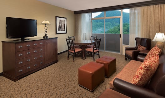 One King Parlor Suite View