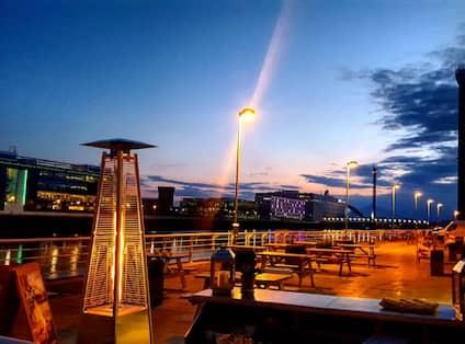 Terrace Nighttime Views