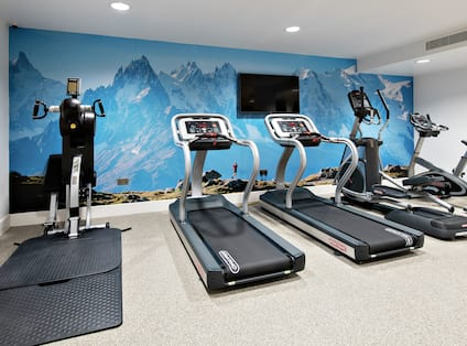 Hotel Gym Cardio Equipment