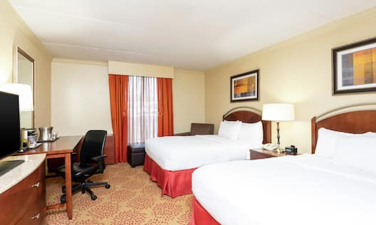 2 Double Accessible Guestroom