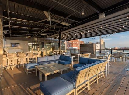 Rooftop Patio Bar, Evening