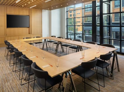 Meeting Room Setup Hollow Square Style
