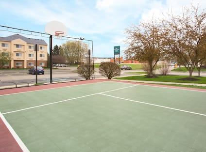 Property Tennis Court