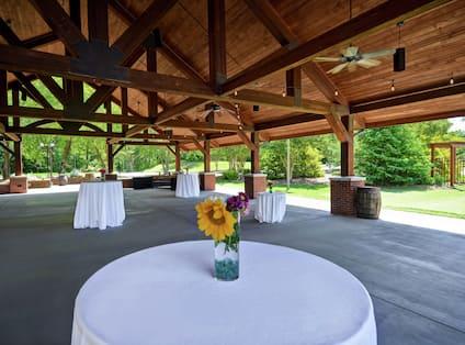 Terrace Outdoor Event Venue
