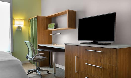 Accessible Guest Room Work Desk Area