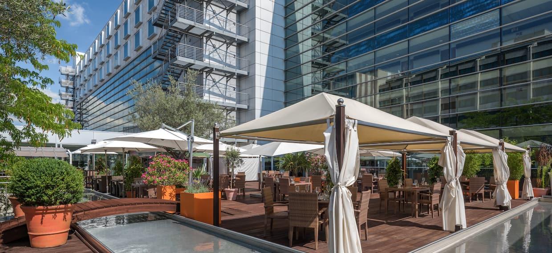 Olivo Restaurant Terrace