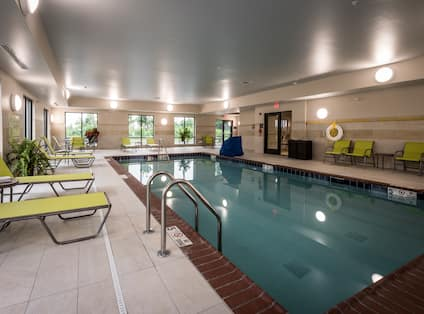 Indoor Pool View