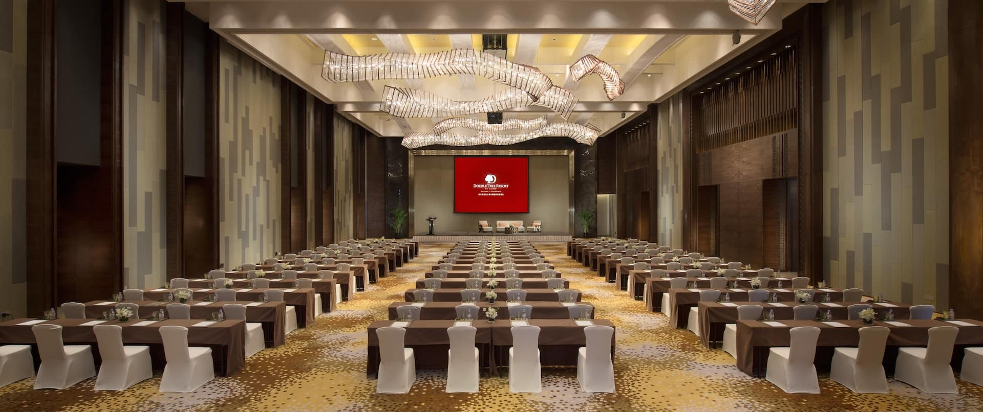Grand Ball Room Classroom Set up