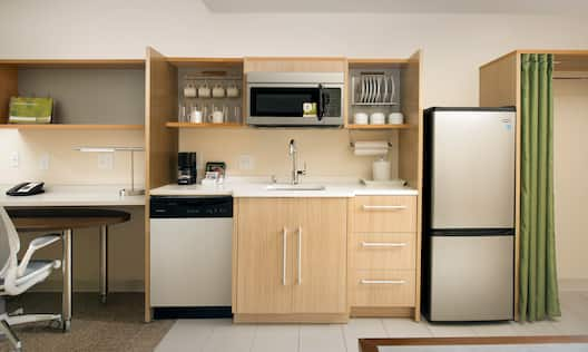 Two Room Suite Kitchen