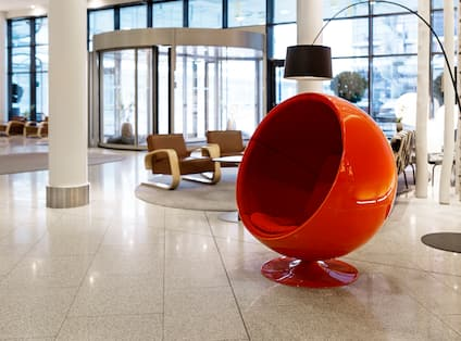Lobby Red Chair