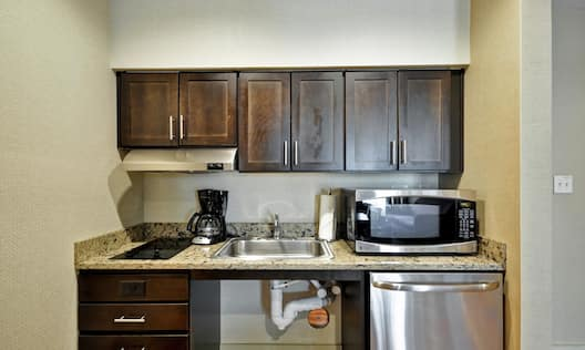 Suite Kitchen with Room Technology